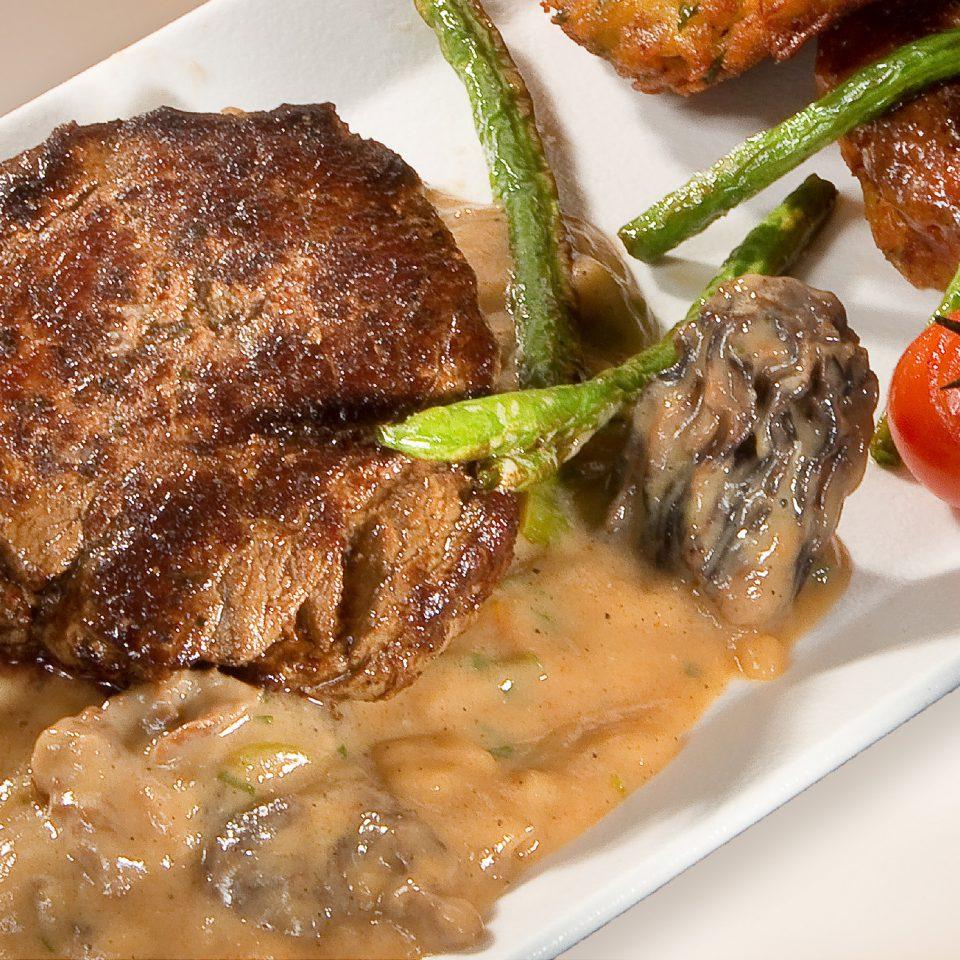 Bélszín steak kucsmagomba